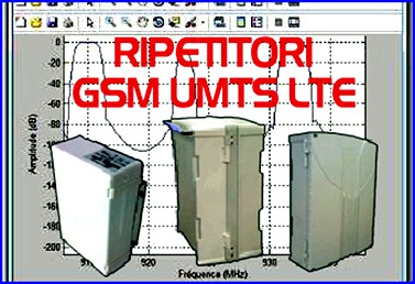 Ripetitori UMTS LTE GSM 2G 3G 4G - Protel